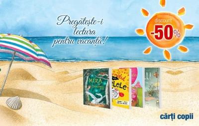 Editura Univers Enciclopedic susține lectura pe timpul vacanței