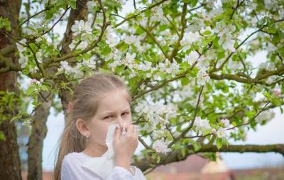 9 semne că ai un copil alergic la polen