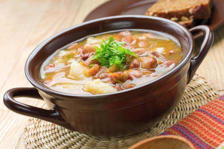 supa de fasole si legume