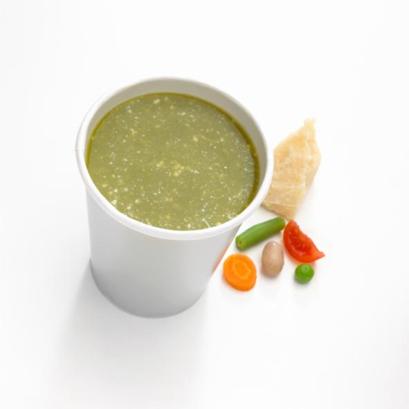 supa crema de fasole verde