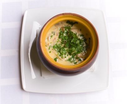 supa de varza cu branza Cheddar