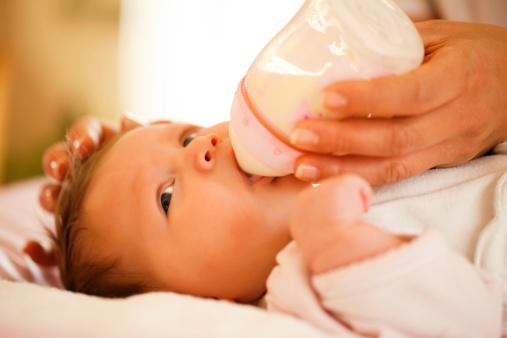 lapte la biberon