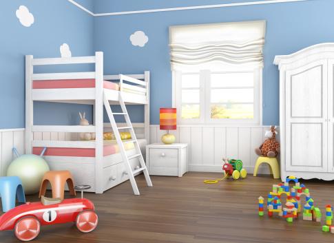 amenajarea camerei copilului in functie de varsta