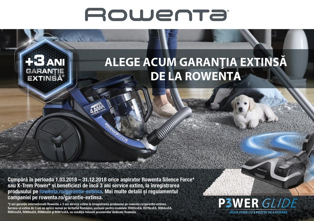 garantie aspirator rowenta