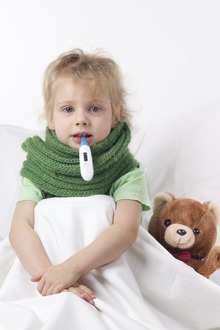 De la cate grade se considera febra la copii