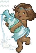 Copilul in zodia Varsator