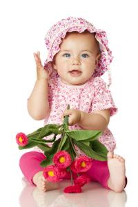 Copiii si florile