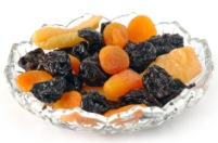 Fructe uscate, sursa de fosfor