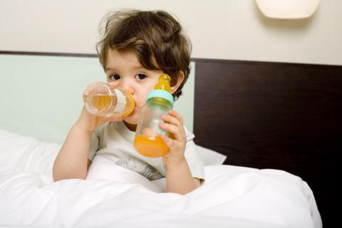 Sucul in exces in alimentatia copiilor