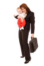 Mama si locul de munca