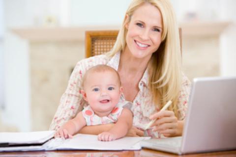 Idei de joburi pentru mamici