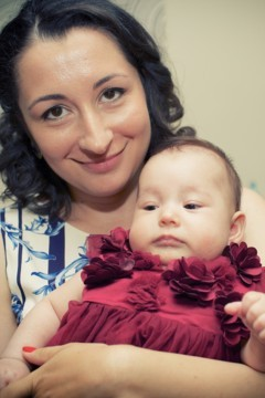 Irina, povestea nasterii la Regina Maria