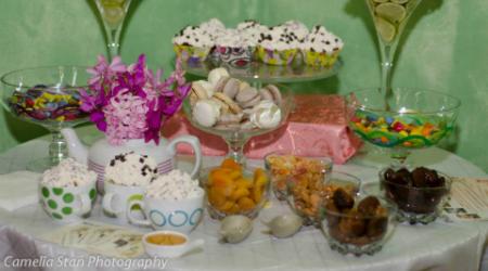 Cupcakes si candybar