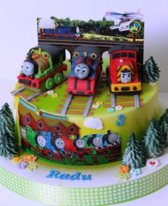 Tort copii Trenuletul Thomas