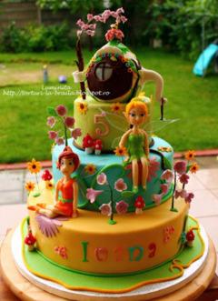 Tort copii Tinker Bell