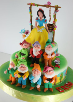 Tort Alba ca Zapada si cei 7 pitici