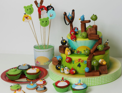 Tort copii Angry Birds