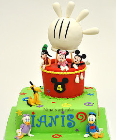 Tort pt copii cu Mickey