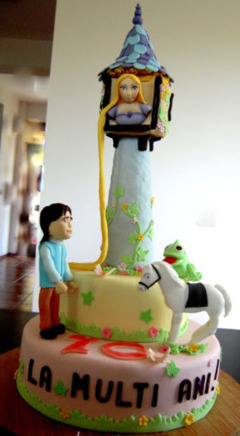 Tort copii Rapunzel