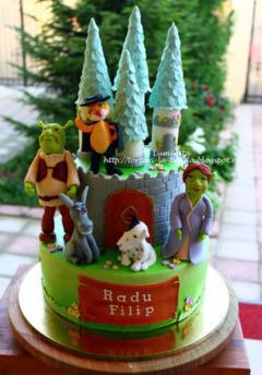 Tort copii Shrek