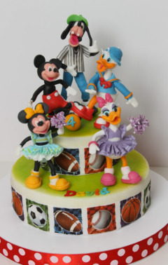 Tort botez Mickey