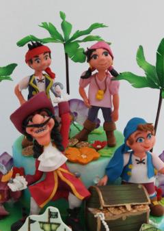 Tort pt copii cu Captain Hook si piratii