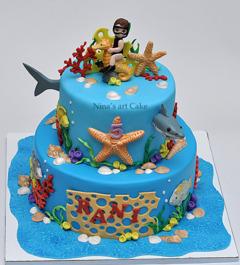 Tort recif corali