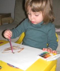 Ioana picteaza