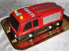 Tort masina de pompieri