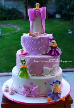 Tort biberon, Daisy si barza