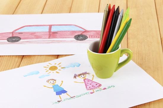 Ce poate desena un copil de la 4 ani in sus