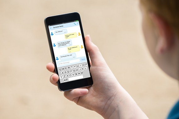 Ecran de telefon mobil