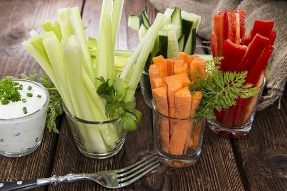 Sticks-uri din tot felul de legume