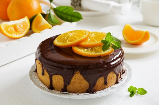 prajitura cu portocale si ciocolata