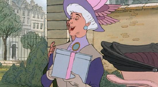 Adelaide, personaj din desenul animat Pisicile Aristocrate