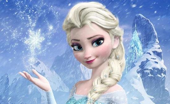 Elsa, una dintre printesele din