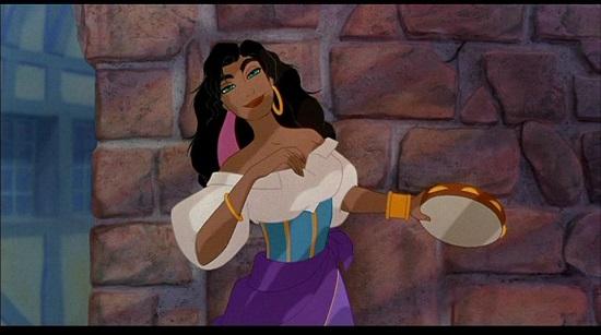 Esmeralda, personaj din filmul de desene animate Cocosarul de la Notre Dame