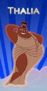 Thalia, una dintre muzele din filmul Hercules