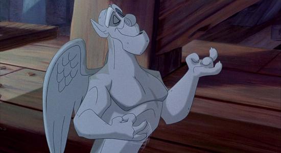 Victor, personaj din filmul de desene animate Cocosatul de la Notre Dame