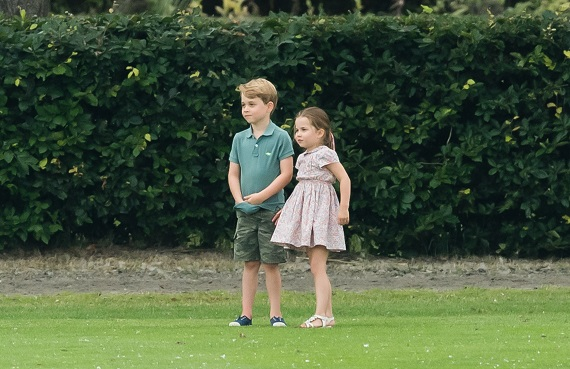 Printesa Charlotte si Printul George