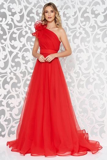 Rochie lunga rosie