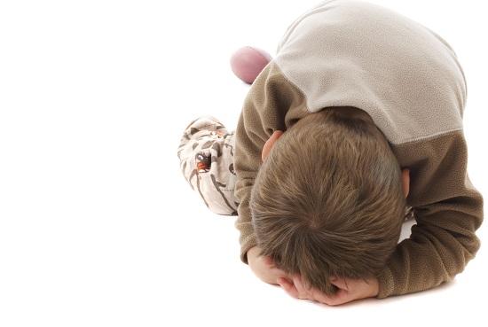 Copiii nu se linistesc usor in timpul unei crize emotionale