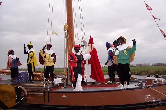Venirea lui Mos Nicolae, in Olanda