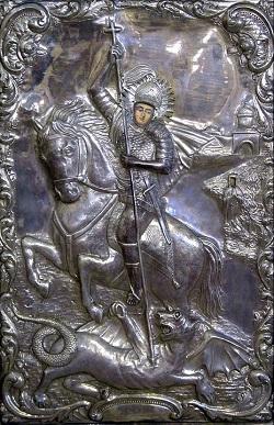 Icoana cu Sfântul Gheorghe
