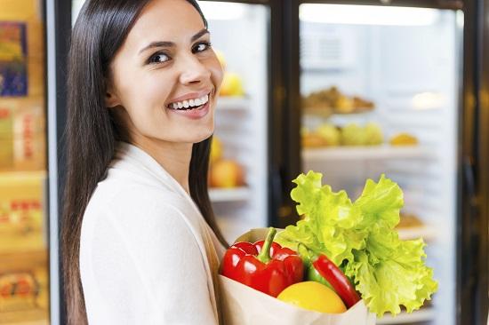 Datorita unei hrane sanatoase putem deveni mai atractive