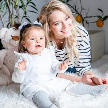 Laura Cosoi si fiica ei, Rita