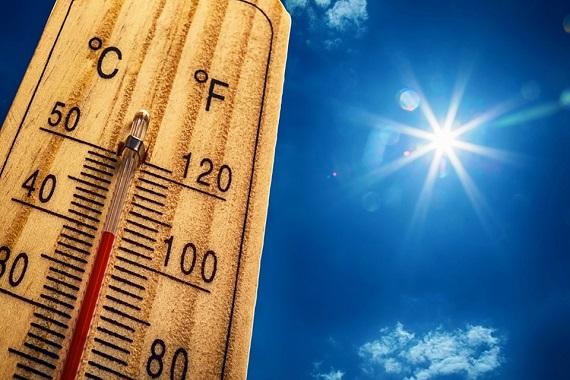 Termometru care arata temperaturi ridicate