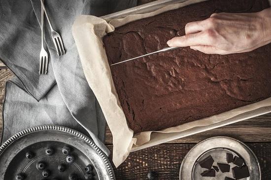 Hartia de copt este ideala pentru prajituri