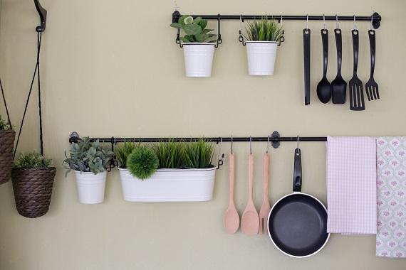Organizare a obiectelor in bucatarie
