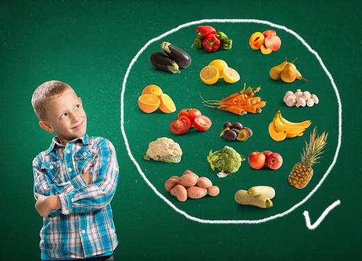 Copiii ar trebui sa-si preia vitaminele, inclusiv pe cele ce dau pofta de mancare, din alimentatie